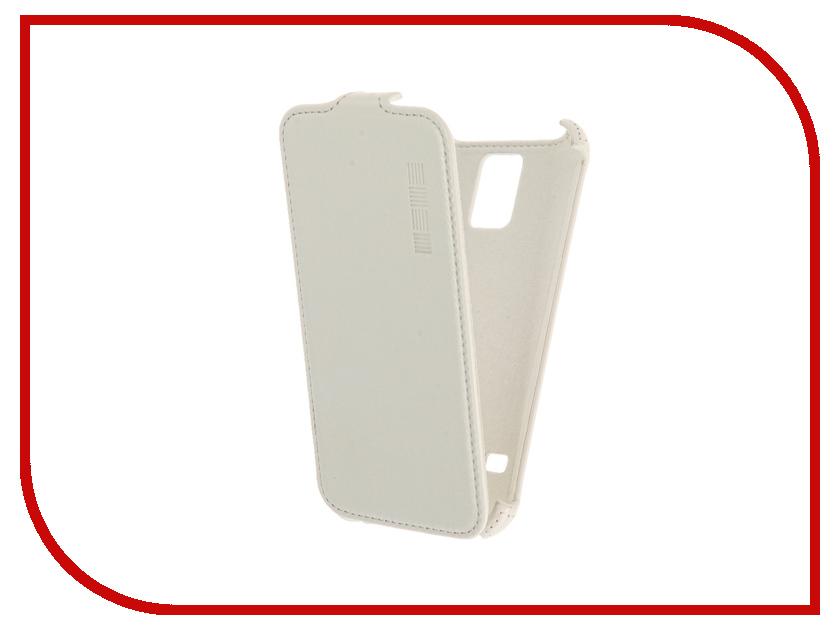 Аксессуар Чехол Samsung Galaxy S5 InterStep Crab White HCB-SAGALS5K-NP1103O-K100<br>