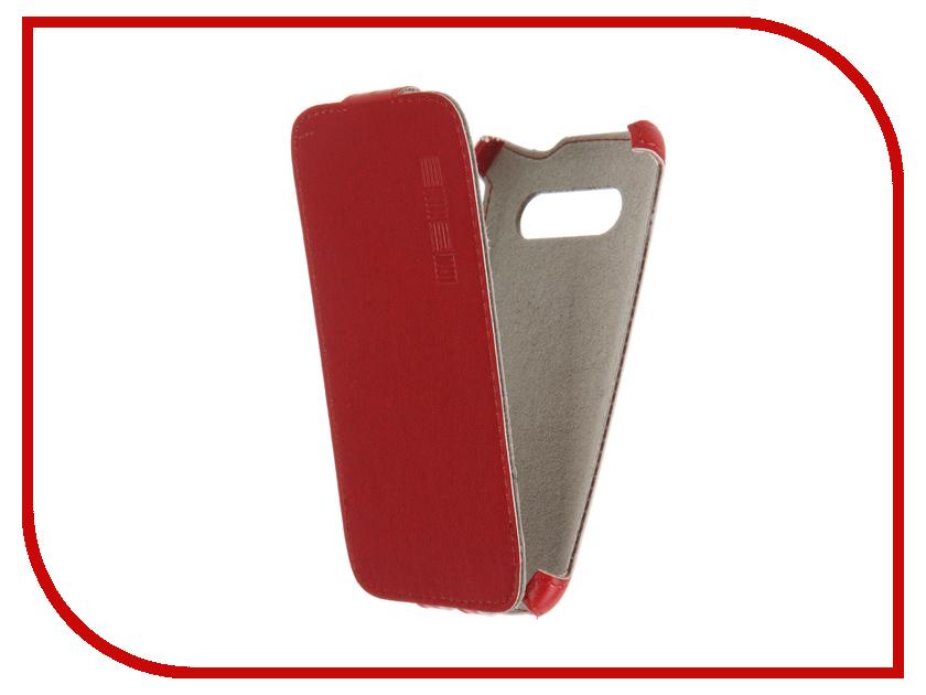 Аксессуар Чехол Samsung Galaxy Core 2 InterStep Crab Red HCB-SAGALC2K-NP1104O-K100<br>