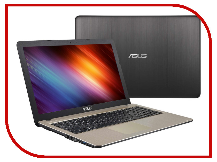 Ноутбук ASUS X540LJ 90NB0B11-M09330 Intel Core i3-5005U 2.0 GHz/4096Mb/500Gb/DVD-RW/nVidia GeForce GT 920M 1024Mb/Wi-Fi/Bluetooth/Cam/15.6/1366x768/DOS<br>