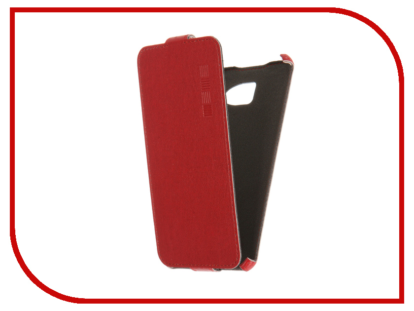 Аксессуар Чехол Samsung Galaxy A5 2016 InterStep Crab Red HCB-SAGA516K-NP1104O-K100<br>