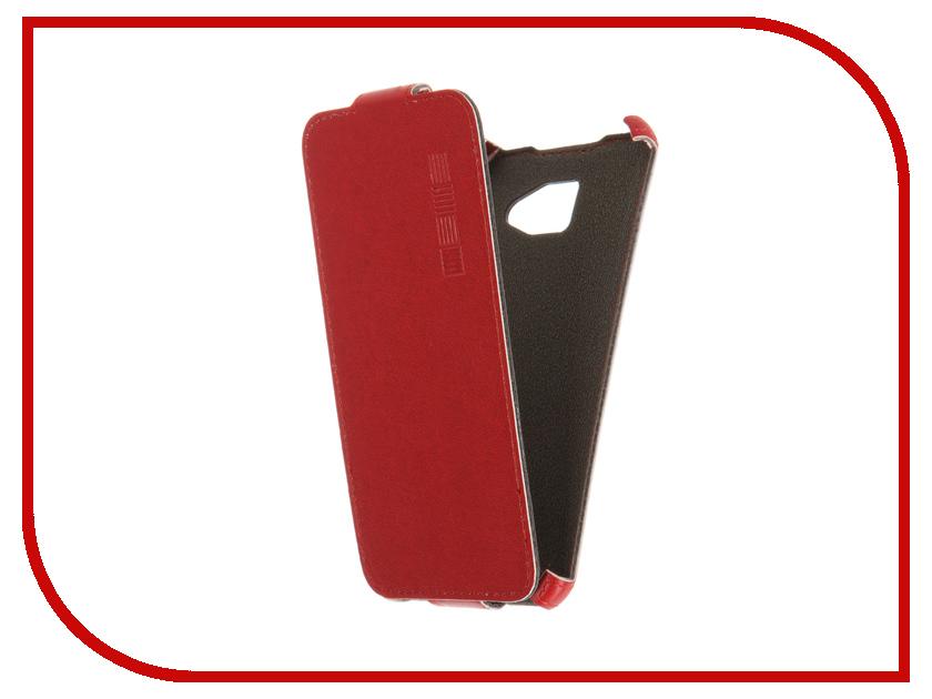 Аксессуар Чехол Samsung Galaxy A3 2016 InterStep Crab Red HCB-SAGA310K-NP1104O-K100<br>