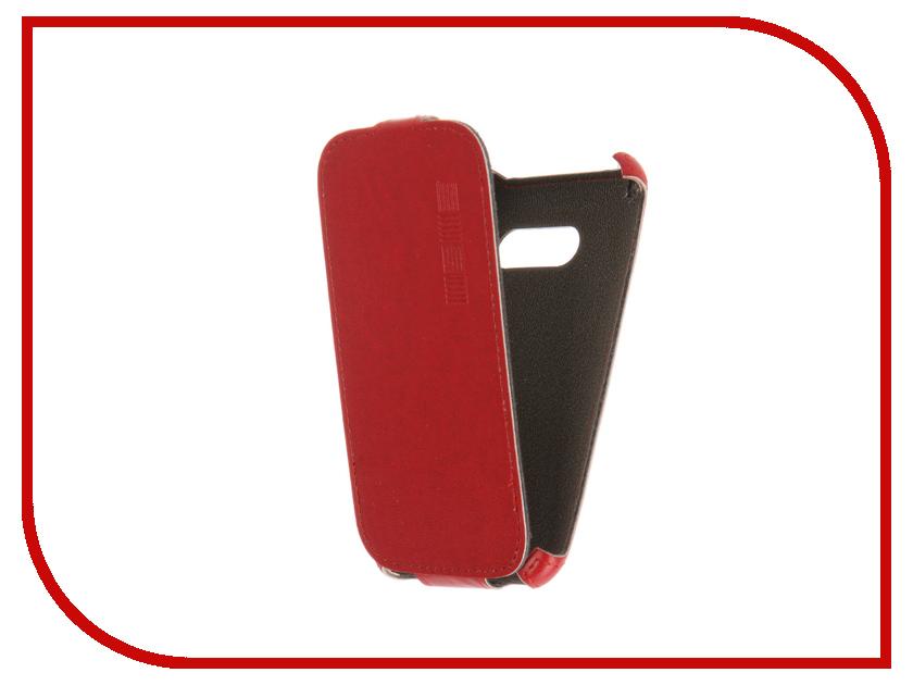 Аксессуар Чехол Samsung Galaxy J1 mini 2016 InterStep Crab Red HCB-SAGAMJ1K-NP1104O-K100 45141<br>