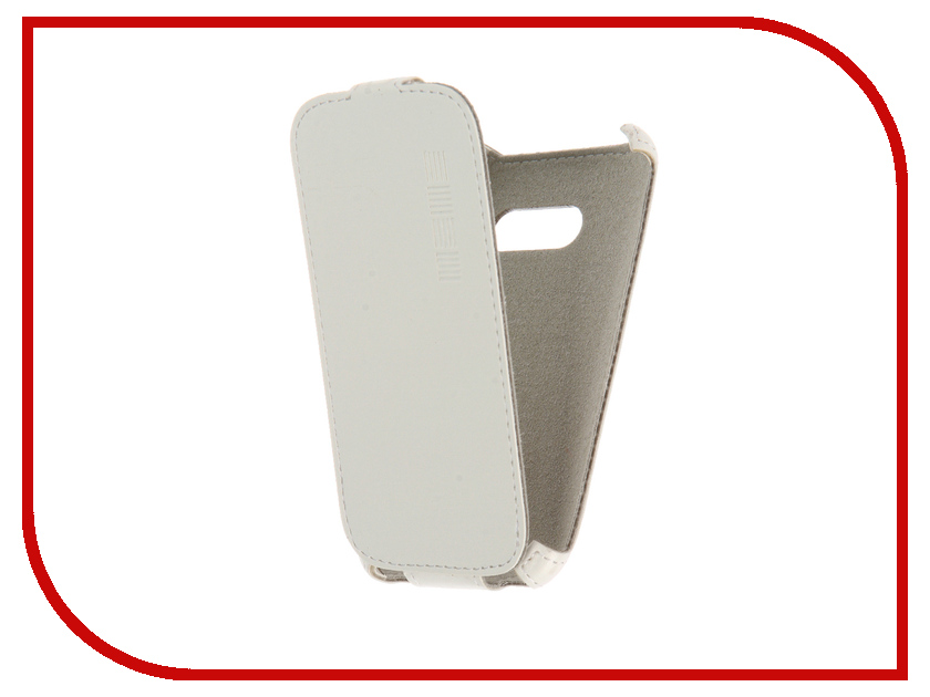 Аксессуар Чехол Samsung Galaxy J1 mini 2016 InterStep Crab White HCB-SAGAMJ1K-NP1103O-K100<br>