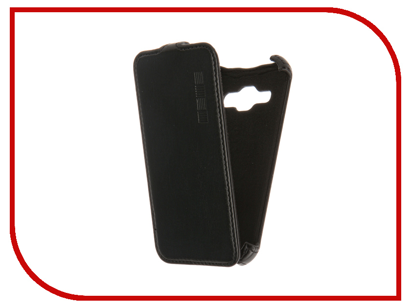 Аксессуар Чехол Samsung Galaxy J1 InterStep Crab Black HCB-SAGALJ1K-NP1101O-K100<br>