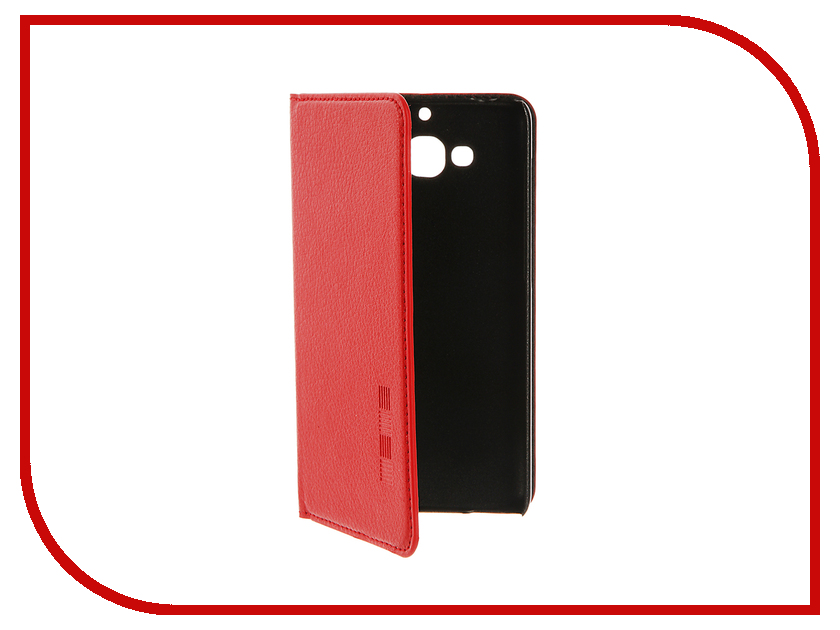Аксессуар Чехол Xiaomi Redmi 2 InterStep IS Vibe Red HVB-XI0RMI2K-NP1104O-K100