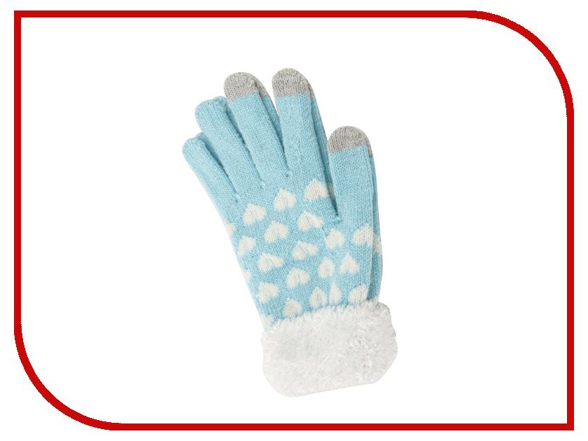 Теплые перчатки для сенсорных дисплеев СИМА-ЛЕНД Сердечки 1103507<br>