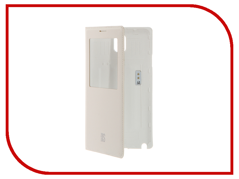 Аксессуар Чехол Samsung Galaxy Note 3 InterStep IS-VIEW White HIV-SAGAN3K-NP1103O-K101<br>