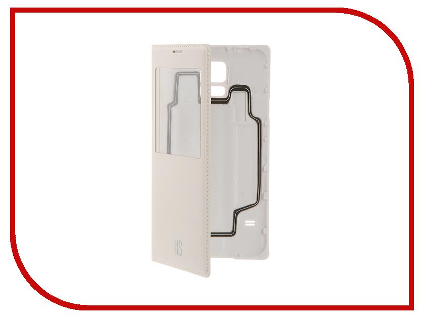 Аксессуар Чехол Samsung Galaxy S5 InterStep IS-VIEW White HIV-SAGalaxyS5K-NP1103O-K100<br>