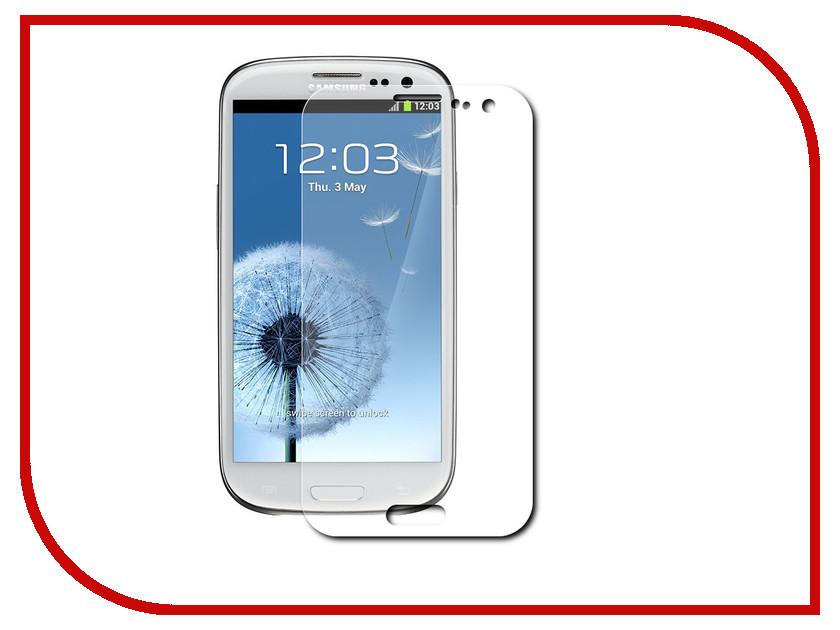 Аксессуар Защитная пленка Samsung Galaxy S 3 InterStep IS-SF-SAGLXS3MT-000B201<br>