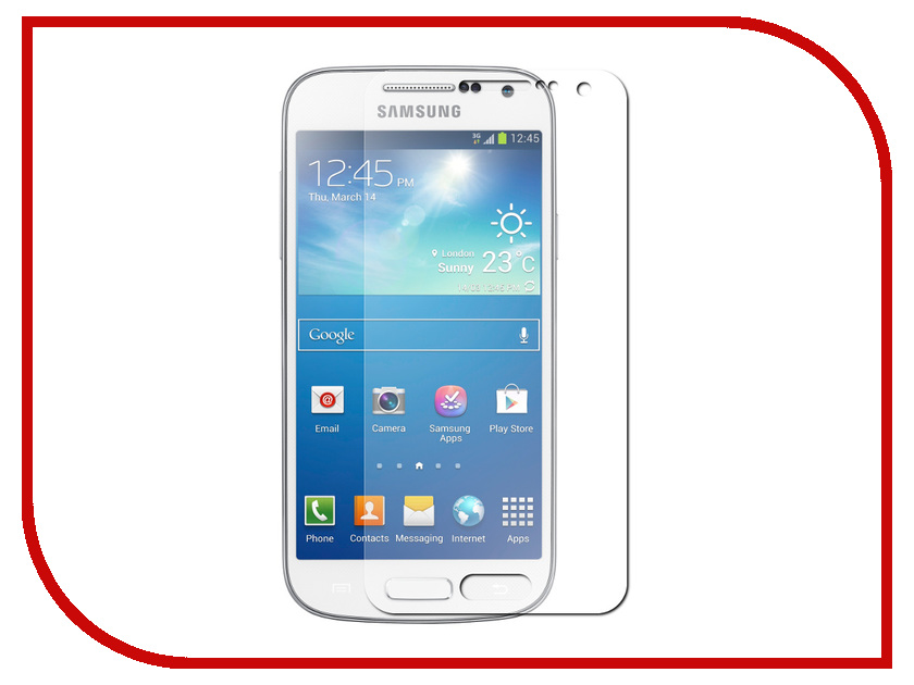 Аксессуар Защитная пленка Samsung Galaxy S4 Mini InterStep Antiglare IS-SF-SGS3MINMT-000B201<br>