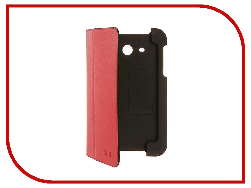 Аксессуар Чехол Samsung Galaxy Tab A 7.0 2016 InterStep STEVE Red HST-SATA716P-NH2104O-K100