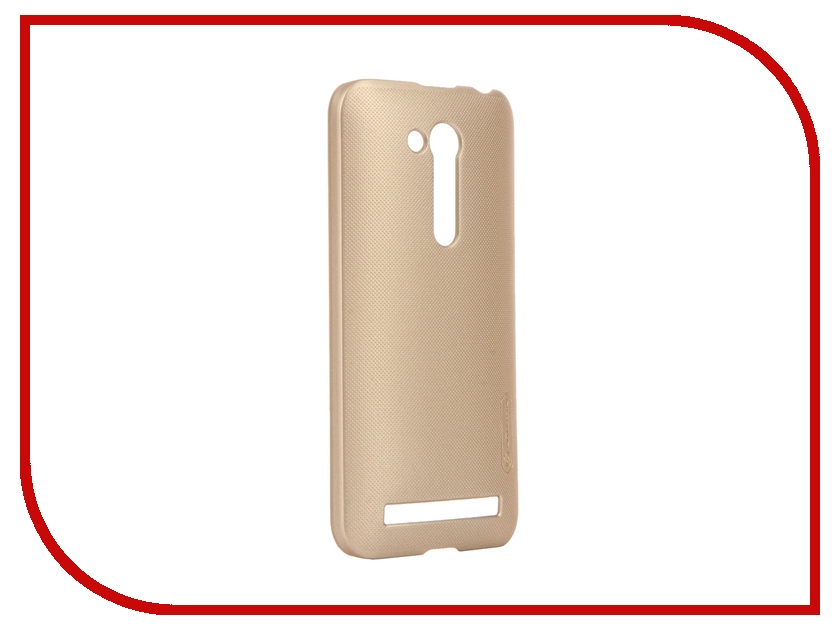 Аксессуар Чехол ASUS ZenFone Go ZB450KL/ZB452KG Nillkin Frosted Shield Gold<br>