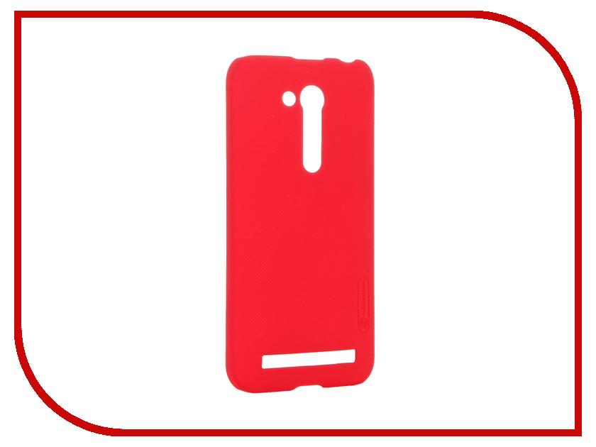 Аксессуар Чехол ASUS ZenFone Go ZB450KL/ZB452KG Nillkin Frosted Shield Red<br>