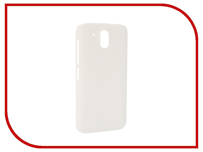 Аксессуар Чехол HTC Desire 526G Nillkin Frosted Shield White<br>