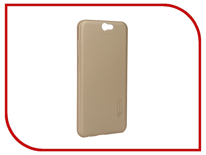 Аксессуар Чехол HTC One A9 Nillkin Frosted Shield Gold