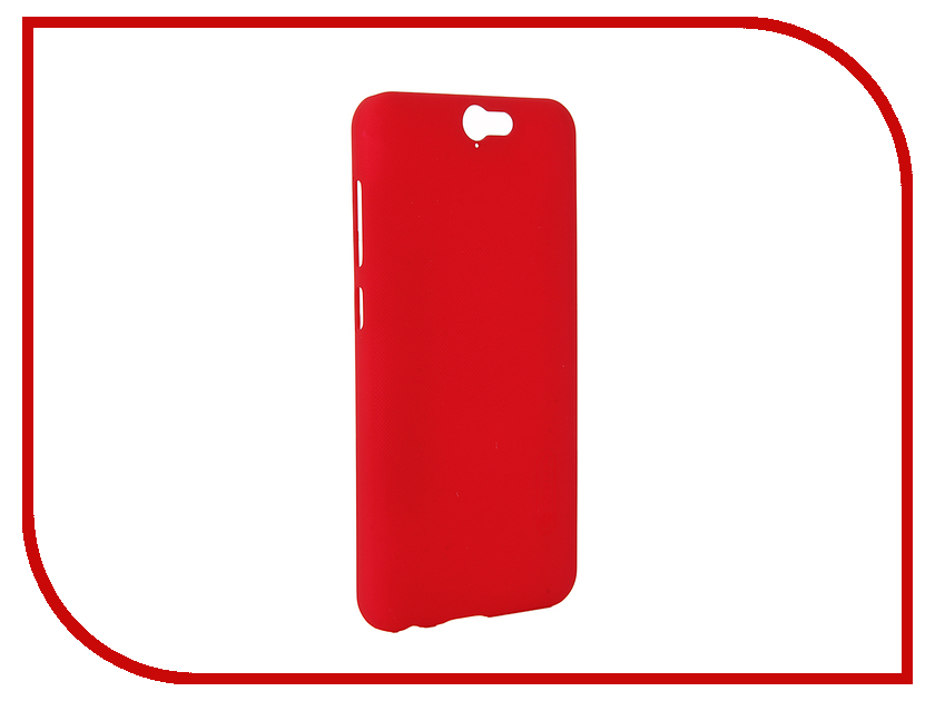 Аксессуар Чехол HTC One A9 Nillkin Frosted Shield Red