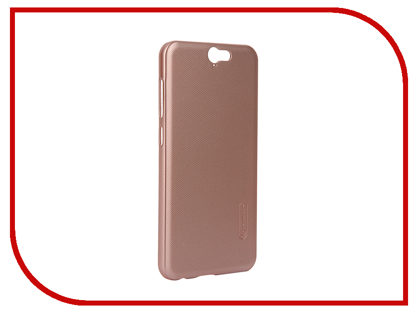 Аксессуар Чехол HTC One A9 Nillkin Frosted Shield Pink