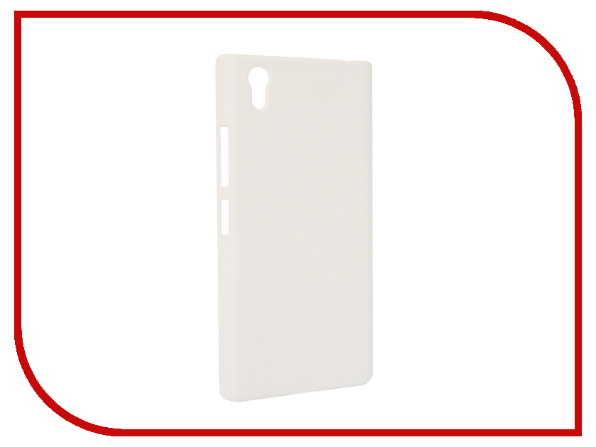 Аксессуар Чехол Lenovo P70 Nillkin Frosted Shield White<br>