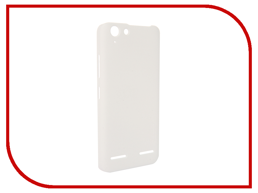 Аксессуар Чехол Lenovo Vibe K5/K5 Plus Nillkin Frosted Shield White<br>