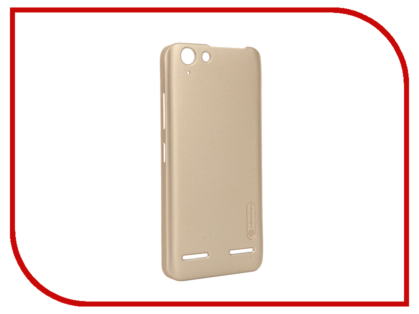 Аксессуар Чехол Lenovo Vibe K5/K5 Plus Nillkin Frosted Shield Gold<br>