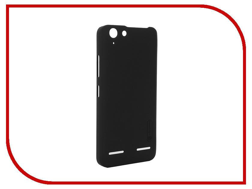 Аксессуар Чехол Lenovo Vibe K5/K5 Plus Nillkin Frosted Shield Black<br>