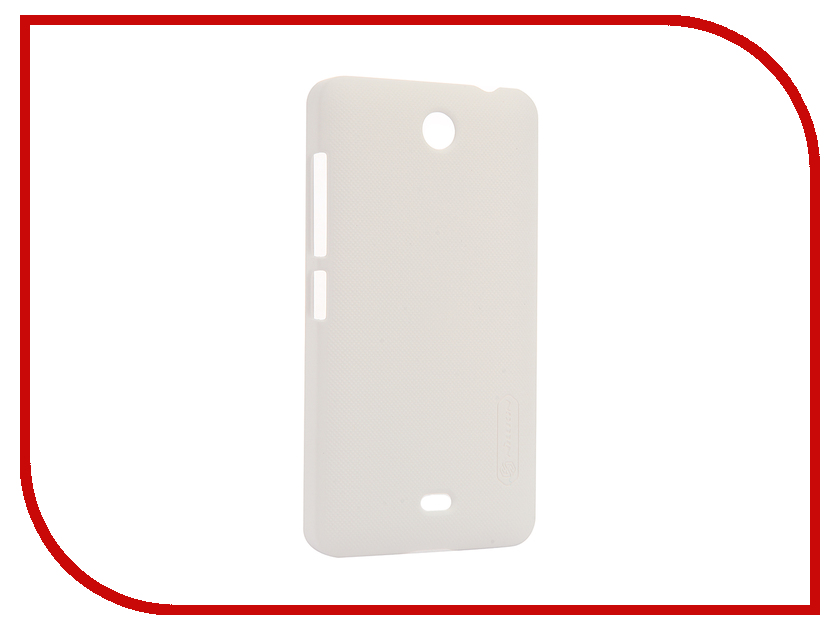 все цены на Аксессуар Чехол Microsoft Lumia 430 Dual Sim Nillkin Frosted Shield White