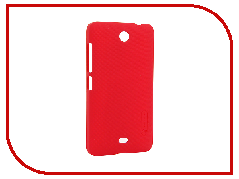 все цены на  Аксессуар Чехол Microsoft Lumia 430 Dual Sim Nillkin Frosted Shield Red  онлайн