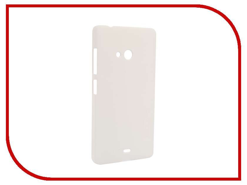 все цены на Аксессуар Чехол Microsoft Lumia 540 Dual Sim Nillkin Frosted Shield White