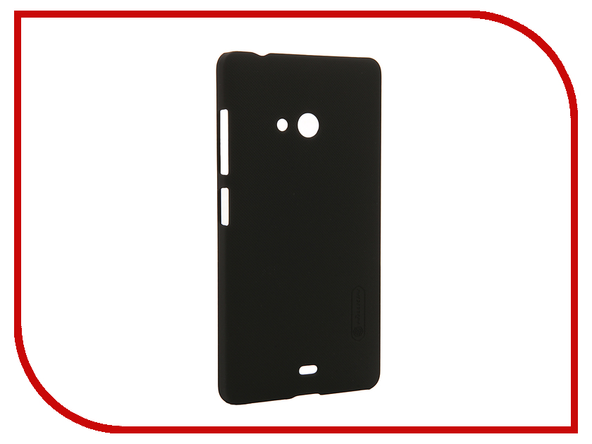 Аксессуар Чехол Microsoft Lumia 540 Dual Sim Nillkin Frosted Shield Black<br>