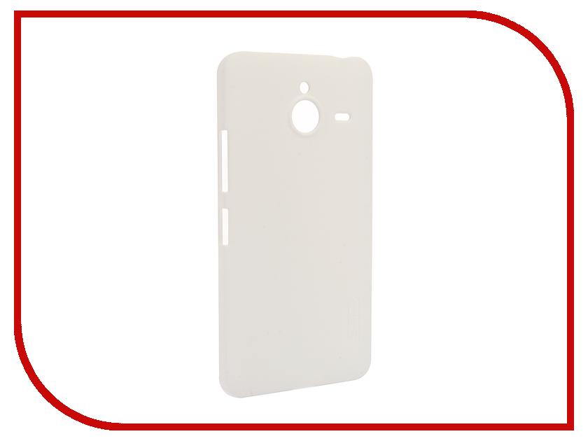 Аксессуар Чехол Microsoft Lumia 640 XL Nillkin Frosted Shield White<br>