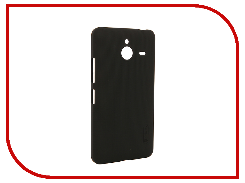 Аксессуар Чехол Microsoft Lumia 640 XL Nillkin Frosted Shield Black<br>