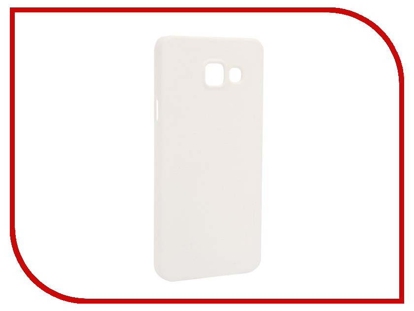 Аксессуар Чехол Samsung Galaxy A3 2016 A310 Nillkin Frosted Shield White<br>