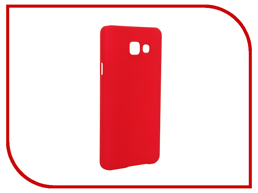 ��������� ����� Samsung Galaxy A3 2016 A310 Nillkin Frosted Shield Red