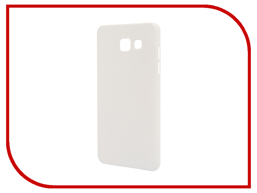 Аксессуар Чехол Samsung Galaxy A5 2016 A510 Nillkin Frosted Shield White<br>