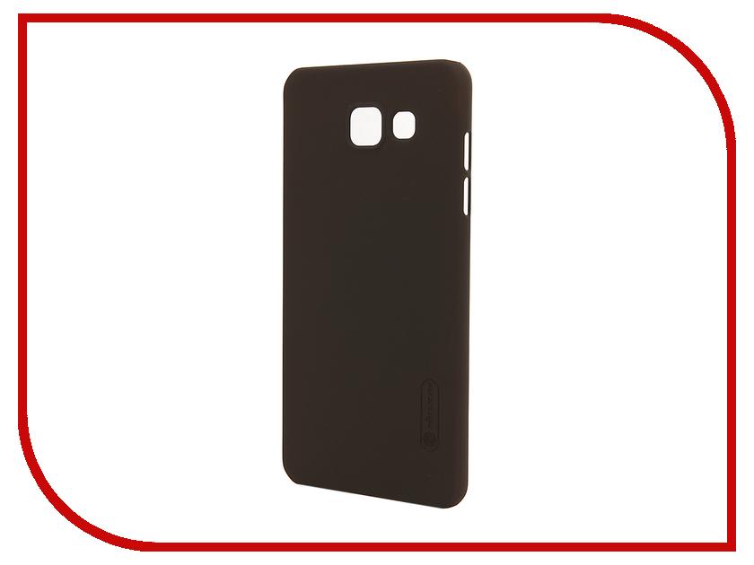 Аксессуар Чехол Samsung Galaxy A5 2016 A510 Nillkin Frosted Shield Brown<br>