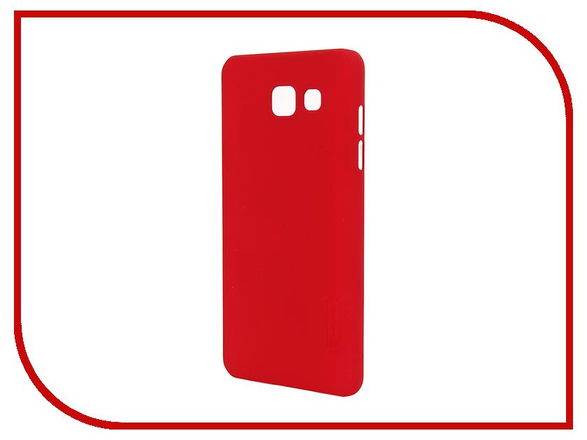 Аксессуар Чехол Samsung Galaxy A5 2016 A510 Nillkin Frosted Shield Red<br>