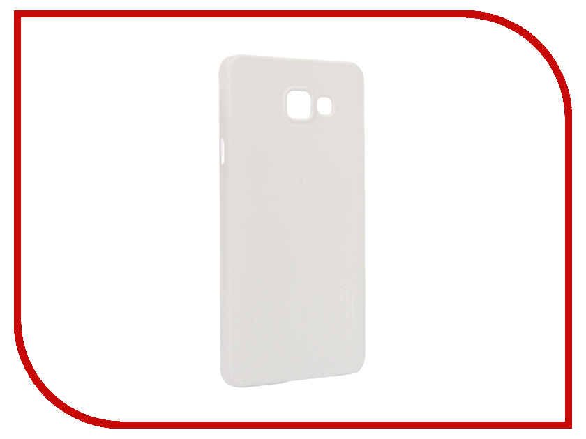 Аксессуар Чехол Samsung Galaxy A7 2016 A710 Nillkin Frosted Shield White<br>