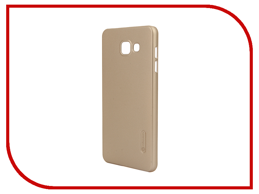Аксессуар Чехол Samsung Galaxy A7 2016 A710 Nillkin Frosted Shield Gold<br>