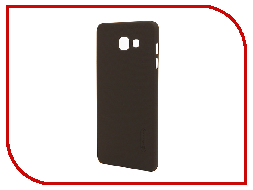 Аксессуар Чехол Samsung Galaxy A7 2016 A710 Nillkin Frosted Shield Brown<br>