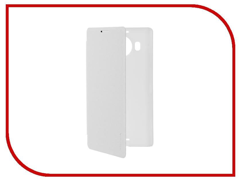 Аксессуар Чехол Microsoft Lumia 950 XL Nillkin Sparkle White