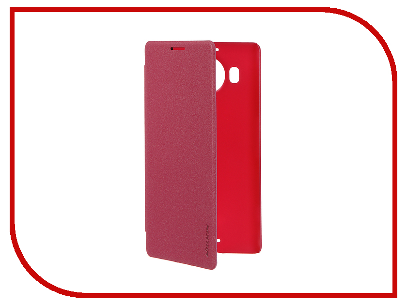 Аксессуар Чехол Microsoft Lumia 950 XL Nillkin Sparkle Pink-Red<br>