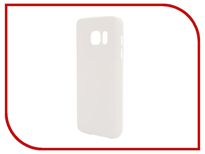 Аксессуар Чехол Samsung Galaxy S7 G930F Nillkin Frosted Shield White<br>