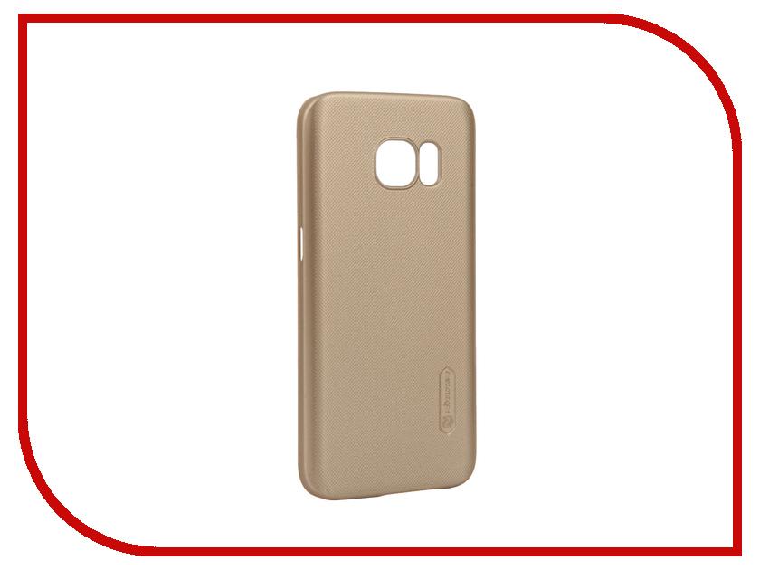 Аксессуар Чехол Samsung Galaxy S7 G930F Nillkin Frosted Shield Gold<br>