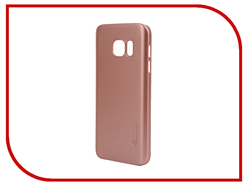 Аксессуар Чехол Samsung Galaxy S7 G930F Nillkin Frosted Shield Pink<br>
