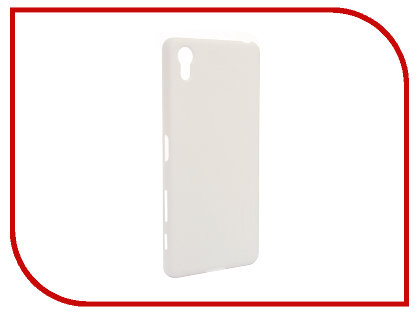 Аксессуар Чехол Sony Xperia X Performance Nillkin Frosted Shield White<br>