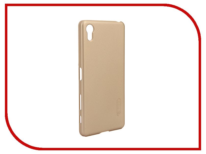Аксессуар Чехол Sony Xperia X Performance Nillkin Frosted Shield Gold<br>