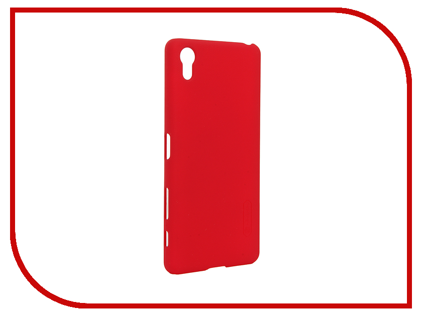 Аксессуар Чехол Sony Xperia X Performance Nillkin Frosted Shield Red<br>