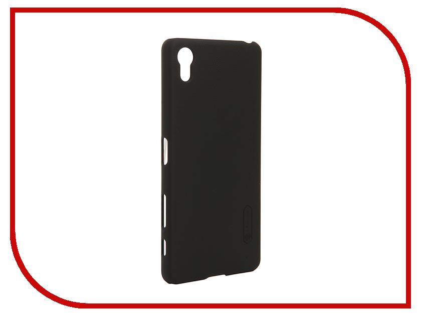 Аксессуар Чехол Sony Xperia X Performance Nillkin Frosted Shield Black<br>