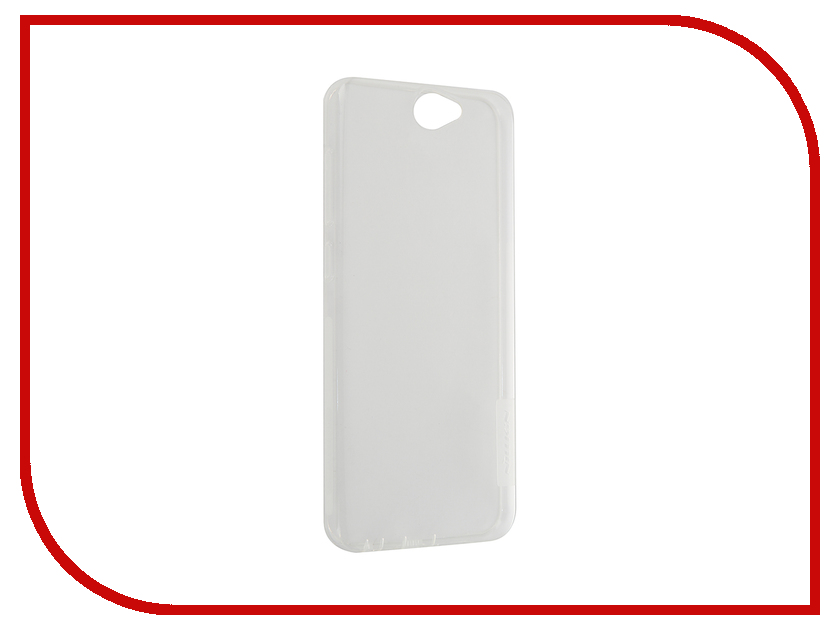 Аксессуар Чехол HTC One A9 Nillkin Nature TPU Transparent White<br>