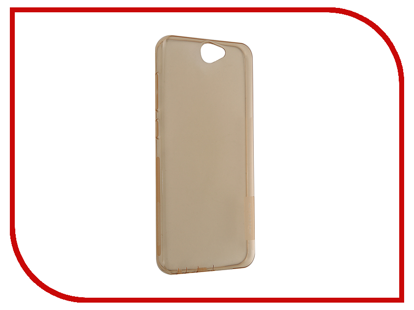 Аксессуар Чехол HTC One A9 Nillkin Nature TPU Transparent Gold htc 728g цена